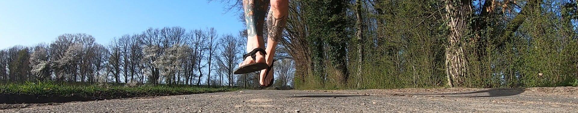 Ich laufe